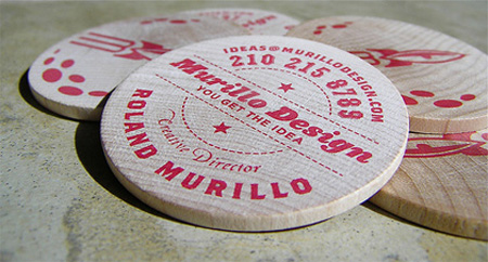 Murillo Design Business Card