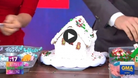 How to make easy and festive gingerbread houses