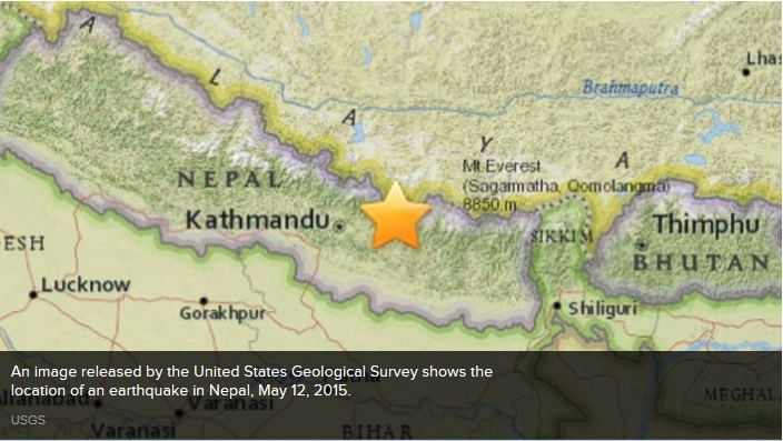 inthenearterm_in kathmandu, tuesday\'s quake sent people rushing outside of