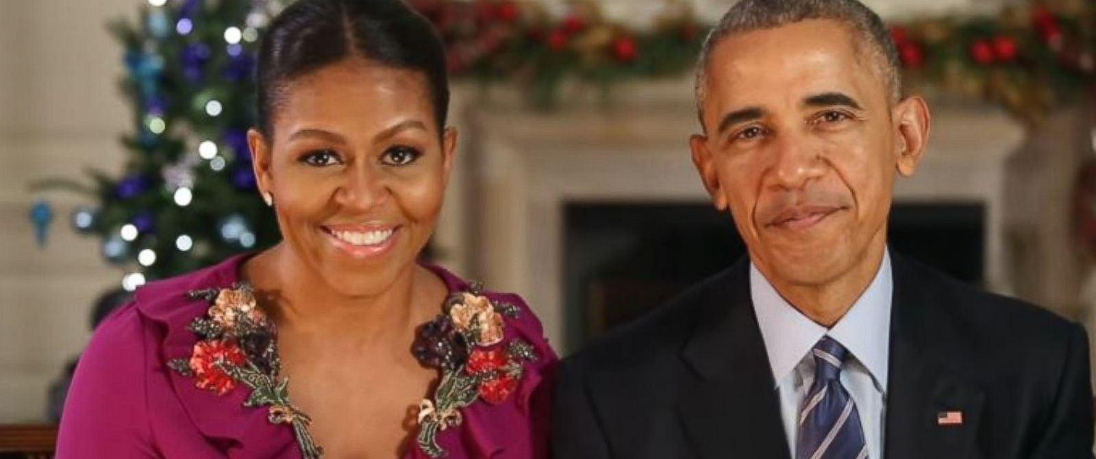 Obamas Urge \'Compassion and Hope\' in Their Last White House ...