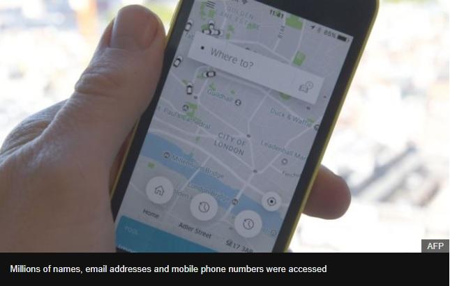 Uber concealed huge data breach