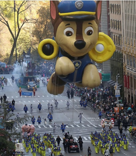 241 Central Park West: The 2017 Macy's Thanksgiving Day Parade In Photos