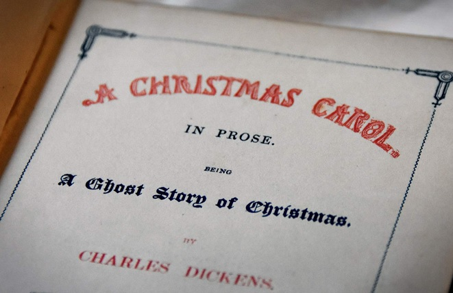 The first pictures of Scrooge