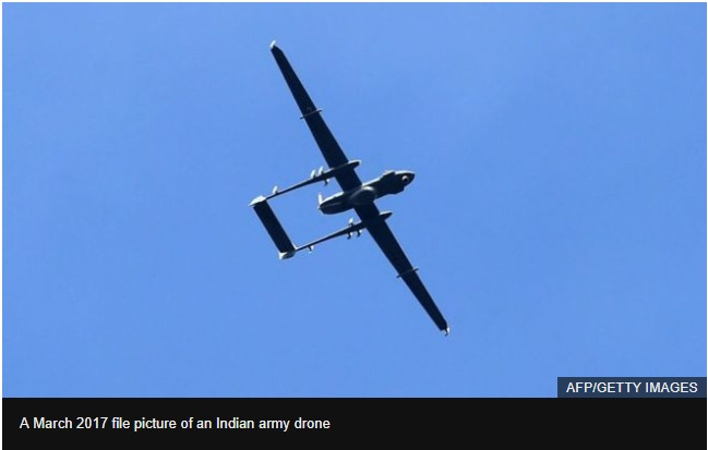 China claims Indian drone invaded airspace in crash