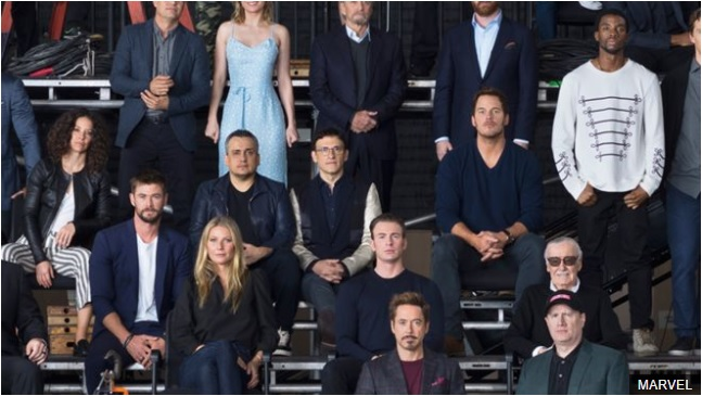 Marvel Cinematic Universe celebrates its 10th birthday with an epic cast photo