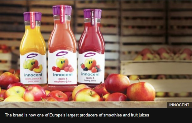 How smoothie brand Innocent became a bestseller