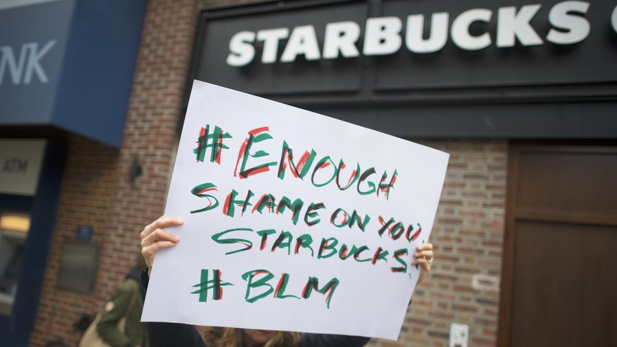 Starbucks to shut over 8,000 US cafes for race training