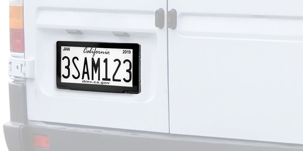 License plates are getting a tech makeover