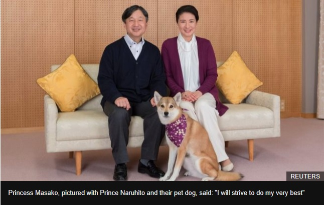 Japans Princess Masako opens up on insecurities and health