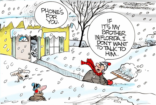 Winter funnies
