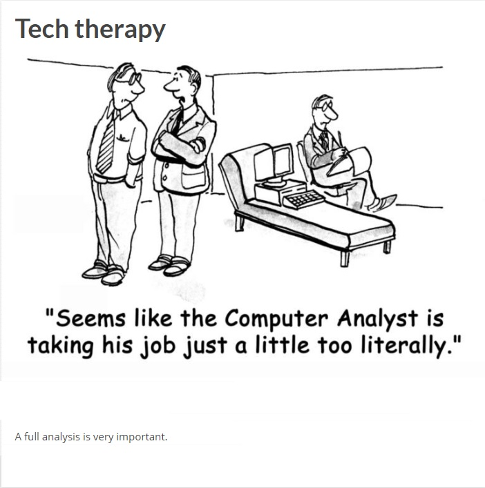 Tech therapy