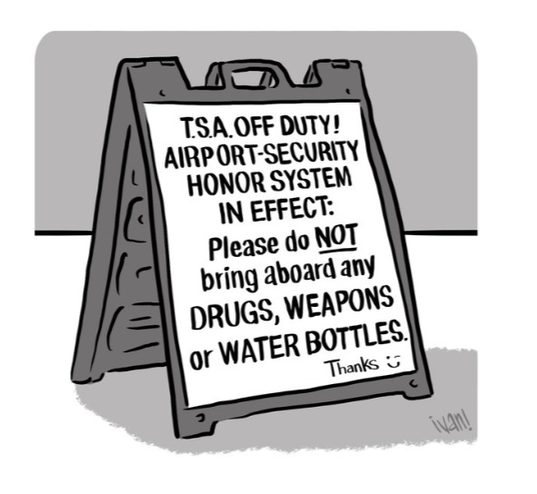 T.S.A OFF DUTY!