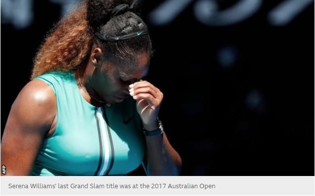 Serena Williams knocked out of Australian Open by Karolina Pliskova after holding match points