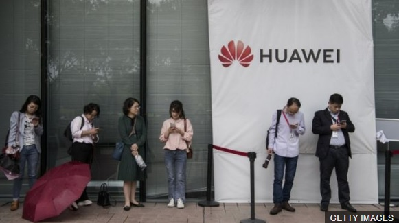 Trump blacklist sees Google restrict Huaweis use of Android