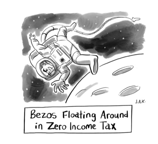 Bezos Floating Around ...