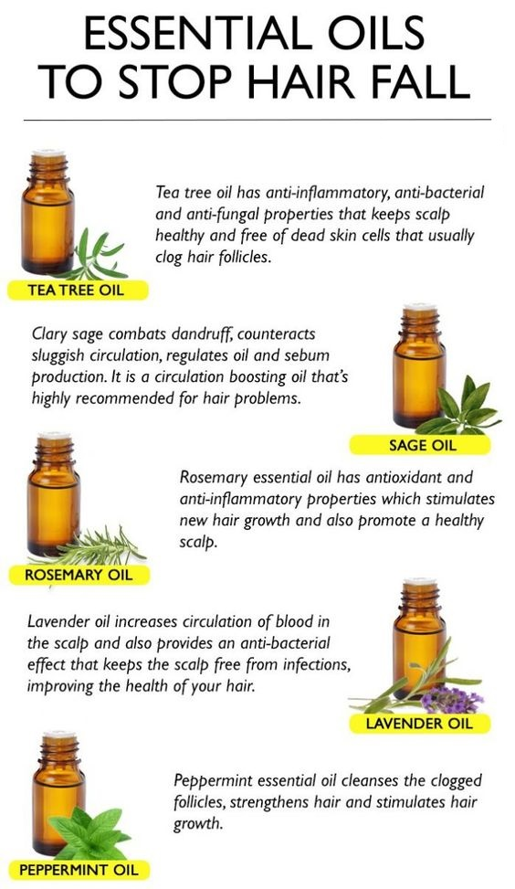 ESSENTIAL OILS TO STOP HAIR FALL