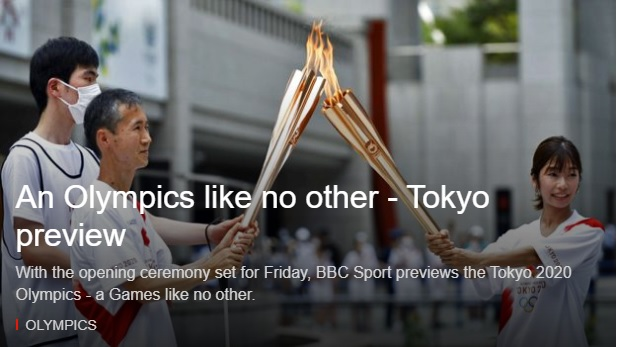 An Olympics like no other - Tokyo preview
